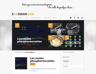 et-demain.com screenshot
