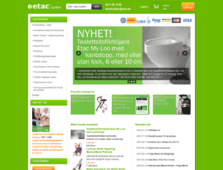 etacbutiken.se screenshot