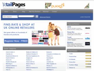 etailpages.co.uk screenshot