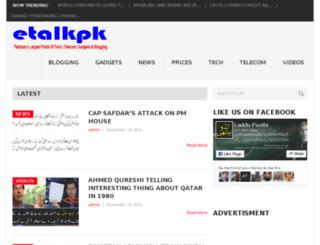 etalkpk.com screenshot
