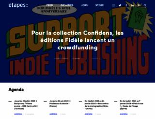 etapes.com screenshot