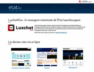 etat.lu screenshot