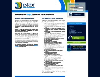 etax.dgi.ga screenshot