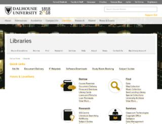 etc.dal.ca screenshot