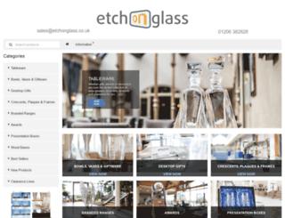 etchonglass.co.uk screenshot