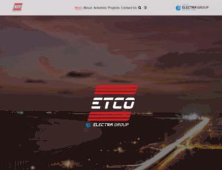 etco-nigeria.com screenshot