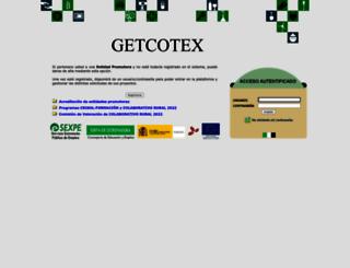 etcote.juntaextremadura.es screenshot