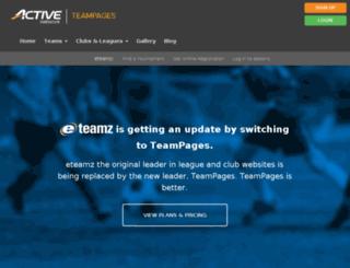 eteamz.active.com screenshot