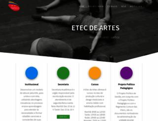 etecdeartes.com.br screenshot