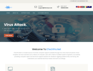 etechpro.net screenshot