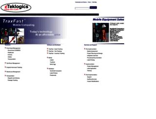 eteklogics.com screenshot