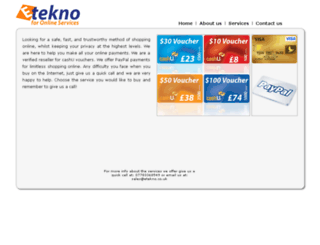 etekno.co.uk screenshot