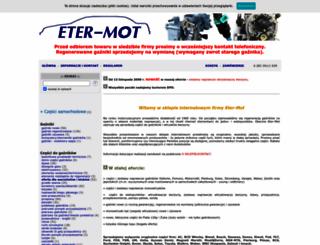 eter-mot.com screenshot