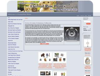 eternalpawprints.net screenshot