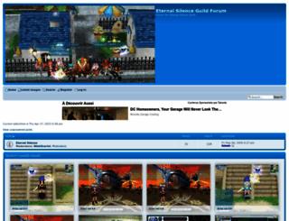 eternalsilenceguild.forumotion.net screenshot