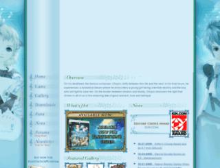 eternalsonata.namcobandaigames.com screenshot
