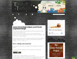 eternalthinker.blogspot.com screenshot
