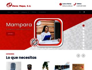 eternaplaque.com screenshot