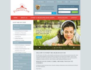 eternityink.com.au screenshot