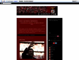 eternobenfica.blogspot.pt screenshot