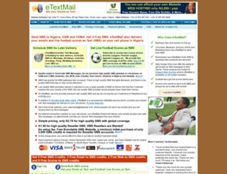 etextmail.com screenshot