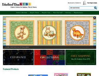 ethelbird.com screenshot