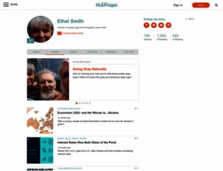 ethelsmith.hubpages.com screenshot