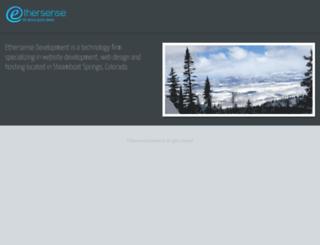 ethersense.com screenshot