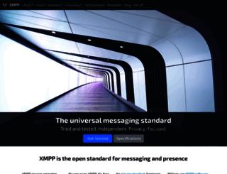 etherx.jabber.org screenshot