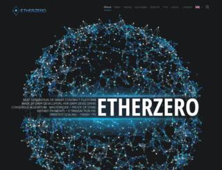 etherzero.pro screenshot