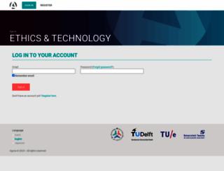 ethiekentechniek.nl screenshot