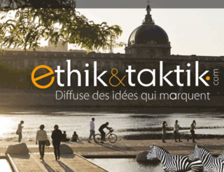 ethiktaktik.com screenshot