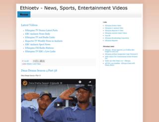 ethioetv.blogspot.com screenshot
