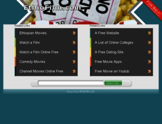 ethiofilm.com screenshot