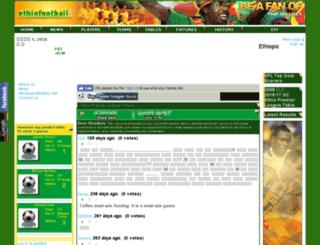 ethiofootball.com screenshot