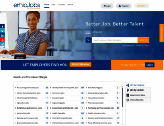ethiojobs.net screenshot