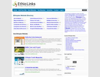 ethiolinks.com screenshot