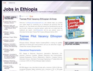 ethiopia.jobs-employment.com screenshot
