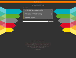 ethiopianairlines.it screenshot