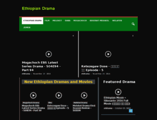 ethiopiandrama.com screenshot
