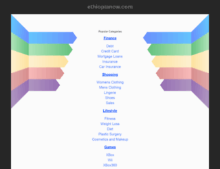 ethiopianow.com screenshot