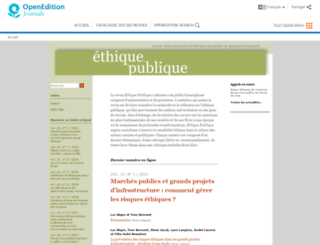 ethiquepublique.revues.org screenshot