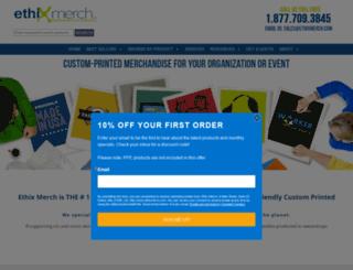 ethixmerch.com screenshot