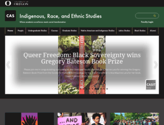 ethnic.uoregon.edu screenshot