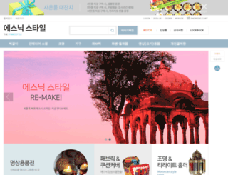 ethnicstyle.co.kr screenshot