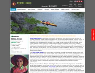 ethnicvoyage.com screenshot