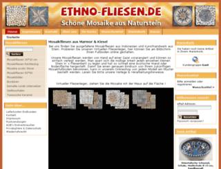ethno-fliesen.de screenshot