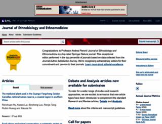 ethnobiomed.com screenshot