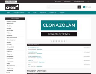ethylphenidate.com screenshot