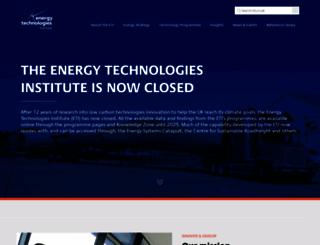 eti.co.uk screenshot